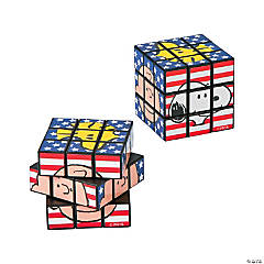 Peanuts® Patriotic Mini Magic Cubes