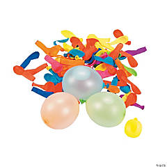 Latex Water Balloons with Filler