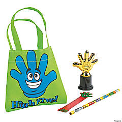 Mini High Five Student Swag Bags (8 Students)