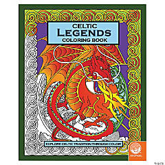 MindWare® Celtic Legends Adult Coloring Book