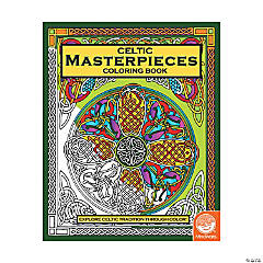 MindWare® Celtic Masterpieces Adult Coloring Book