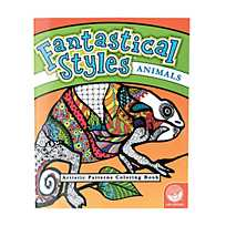 quickview image of mindware fantastical styles animals adult coloring book with sku13741007 - Mindware Coloring Books