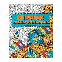Quickview Image Of MindWareR Mirror Transformations Adult Coloring Book With Sku13741048