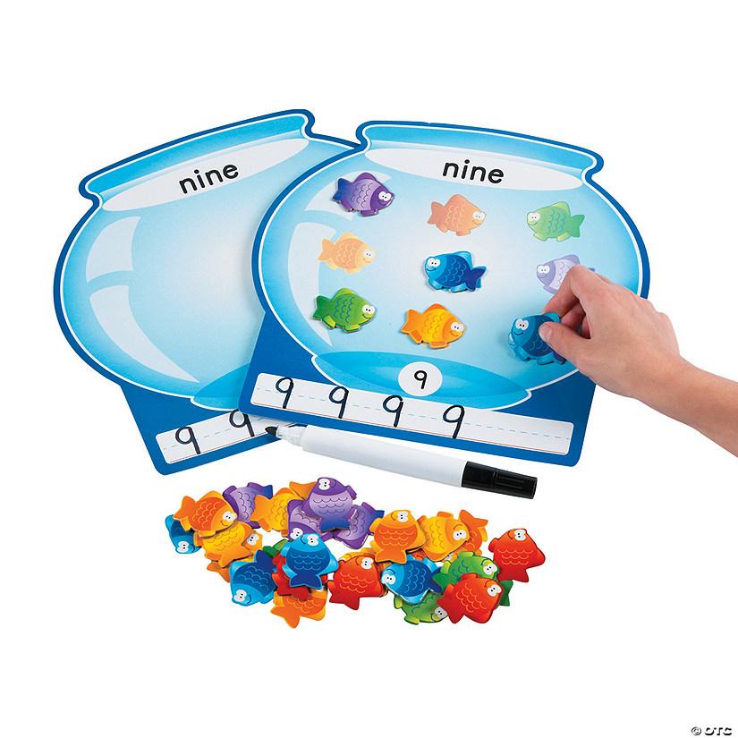Fish Bowl Counting Math Mats