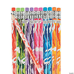 Bright Camouflage Pencil Assortment