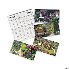 2017 - 2018 English Garden Pocket Planners