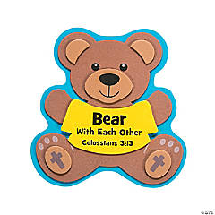 Bear with Each Other & Forgive Magnet Craft Kit