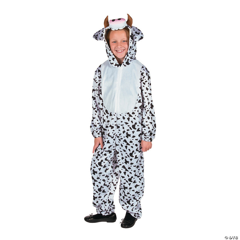 sc 1 st  Oriental Trading & Kidu0027s Full Body Cow Costume