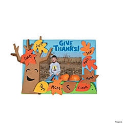 Tree of Thanks Picture Frame Magnet Craft Kit
