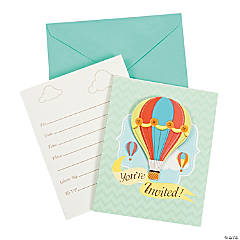 Up & Away Invitations