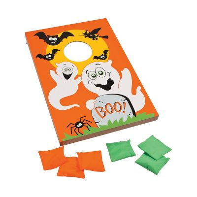halloween kids games ready to play boxed games bean bag toss game clipart Ball Toss Clip Art