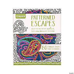Crayola® Patterned Escapes Adult Coloring Book