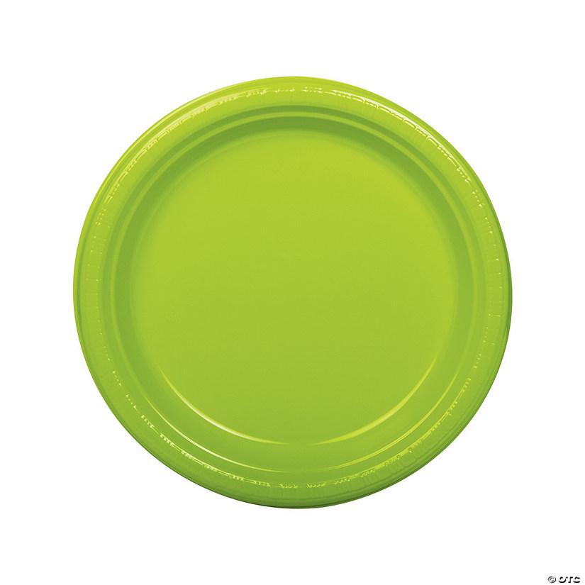 sc 1 st  Oriental Trading & Lime Green Plastic Dinner Plates