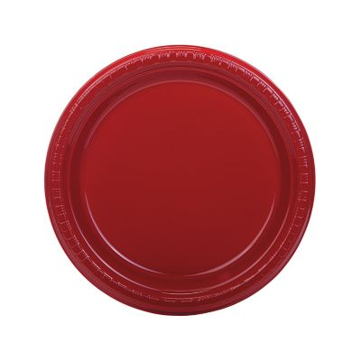 quickview image of red plastic dinner plates with sku13746746