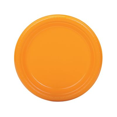 quickview image of yellow plastic dinner plates with sku13746752
