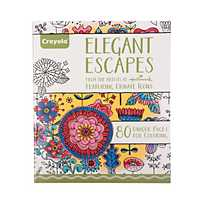 Quickview Image Of CrayolaR Elegant Escapes Adult Coloring Book With Sku13746880