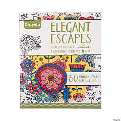 Crayola® Elegant Escapes Adult Coloring Book