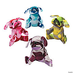 Camouflage Stuffed Dogs