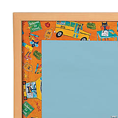 Pete the Cat™ School is Cool Bulletin Board Borders