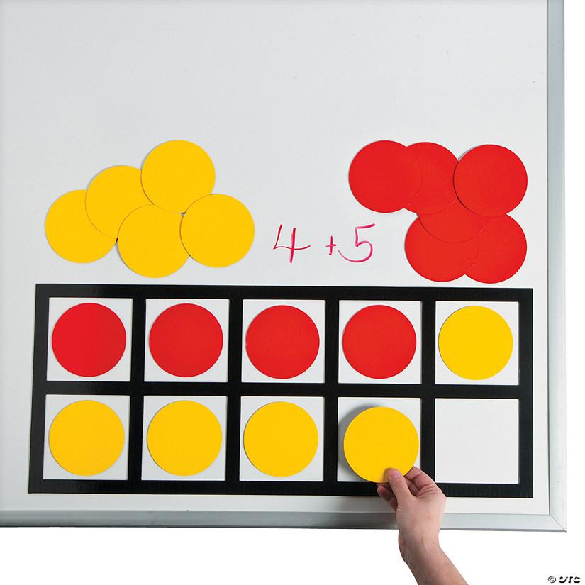 Ten Frame Math Magnets - Discontinued