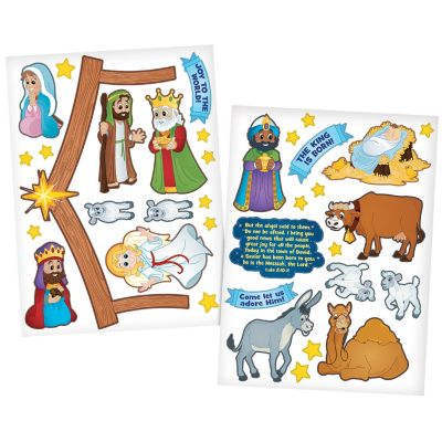 Nativity wall decals