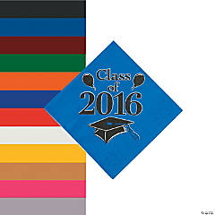 Class of 2016 Beverage Napkins