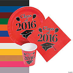 Class of 2016 Tableware Sets