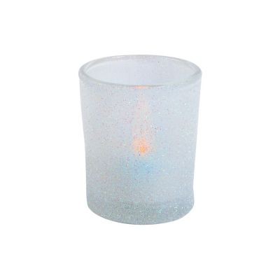 quickview image of white glitter votive holders with sku13751879