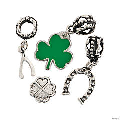St. Patrick's Large Hole Bead Assortment