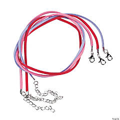 Valentine Suede Cording Necklaces