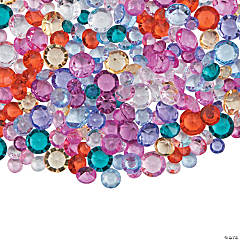 Colorful Acrylic Gems