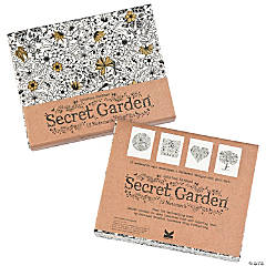 Secret Garden Coloring Notecards by Johanna Basford