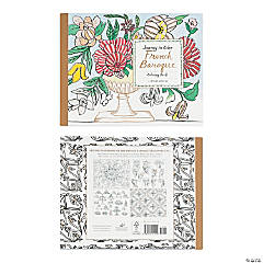 Journey in Color French Baroque Adult Coloring Book