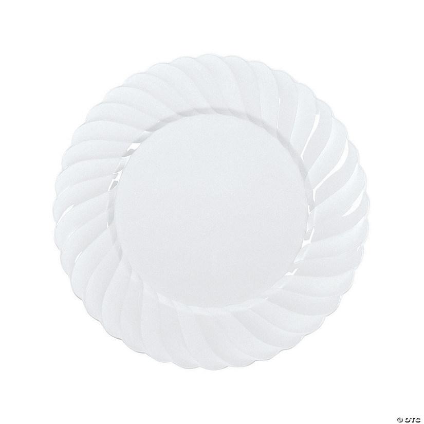 sc 1 st  Oriental Trading & White Elegance Premium Plastic Dinner Plates