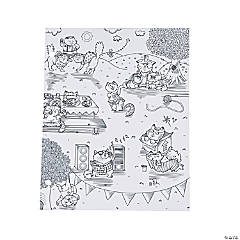 American Crafts™ Adult Coloring Kitty Karaoke Pocket Folders
