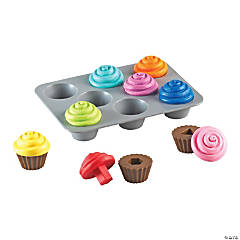 Smart Snacks® Shape Sorting Cupcakes