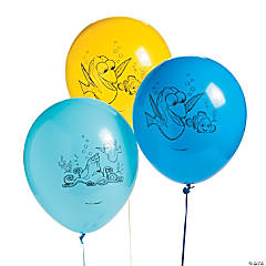 Finding Dory Latex Balloons