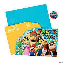 Super Mario™ Thank You Cards