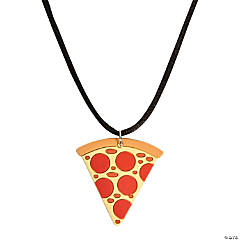 Pizza Necklaces