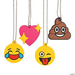 Emoji Charm Necklaces