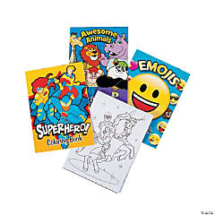 More Everyday Fun Coloring Books