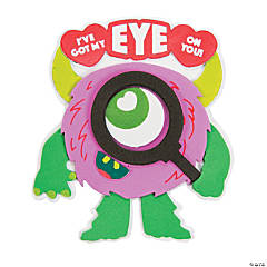 I've Got My Eye on You Monster Magnet Craft Kit