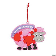 Wooly Be My Valentine Ornament Craft Kit