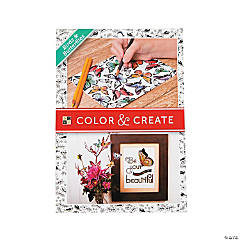 Color and Create: Birds & Butterflies Adult Coloring Stack