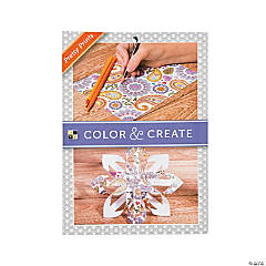 Color and Create: Pretty Prints Adult Coloring Stack