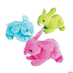 Bright Easter Stuffed Bunnies