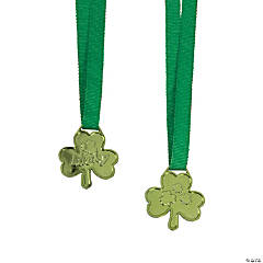 St. Patrick's Day Lucky Shamrock Medals