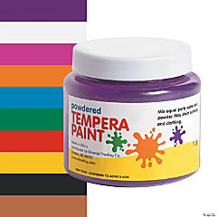 Powdered Tempera Paint