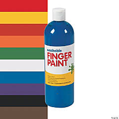 Washable Finger Paints - 16 oz.
