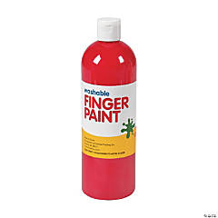 Washable Fuchsia Finger Paint - 16 oz.